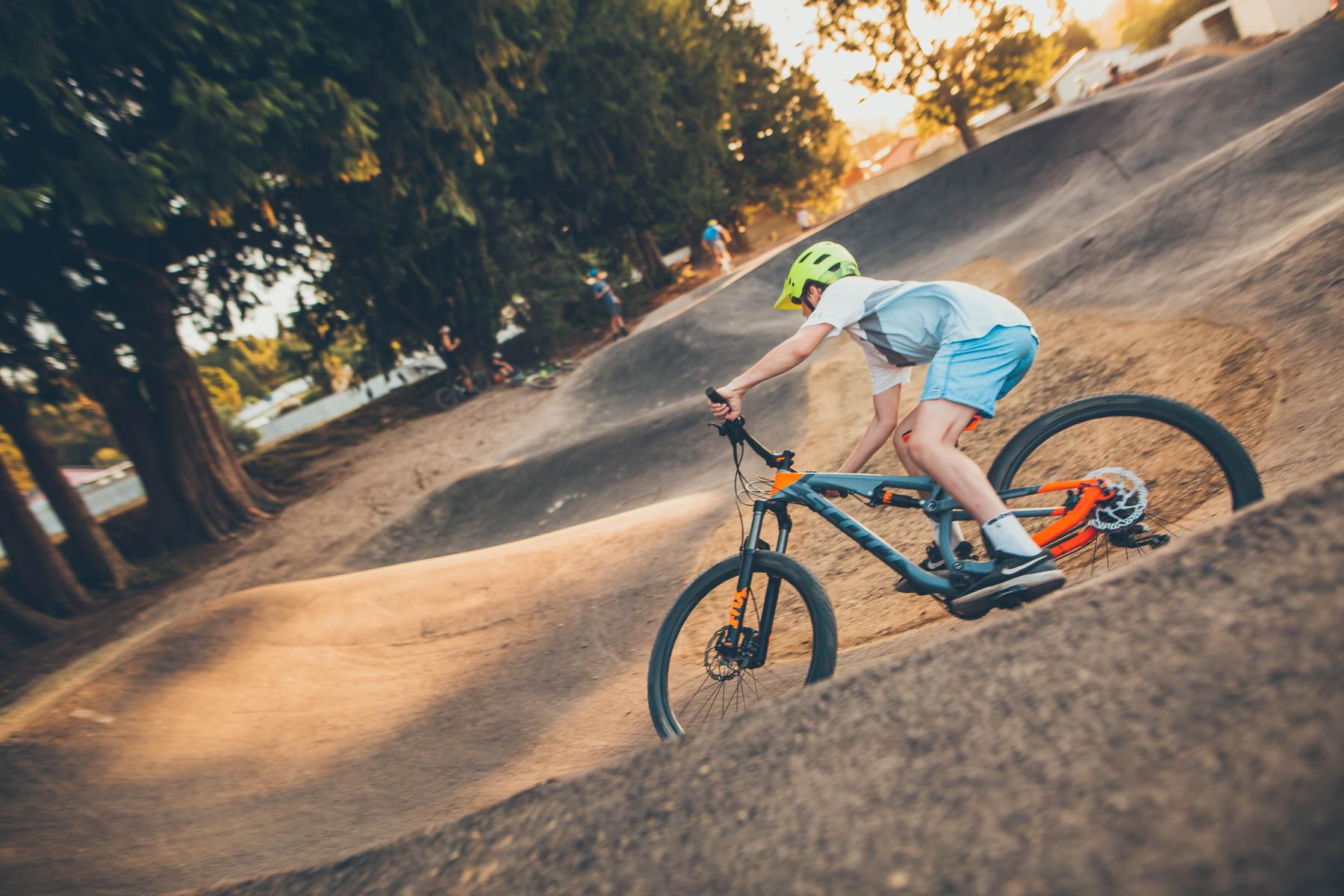 Maydena Bike Park Pump Track Asphalting Hobart Tasmania 4