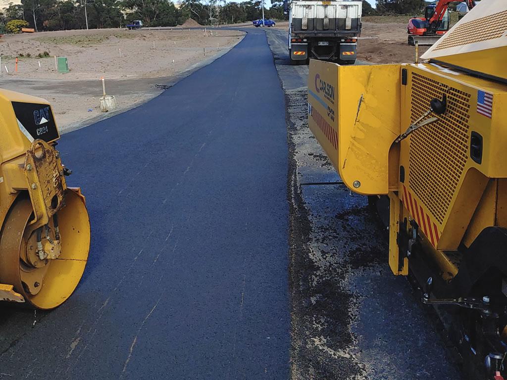 asphalt roads highway surfacing resurfacing contractor hobart tasmania
